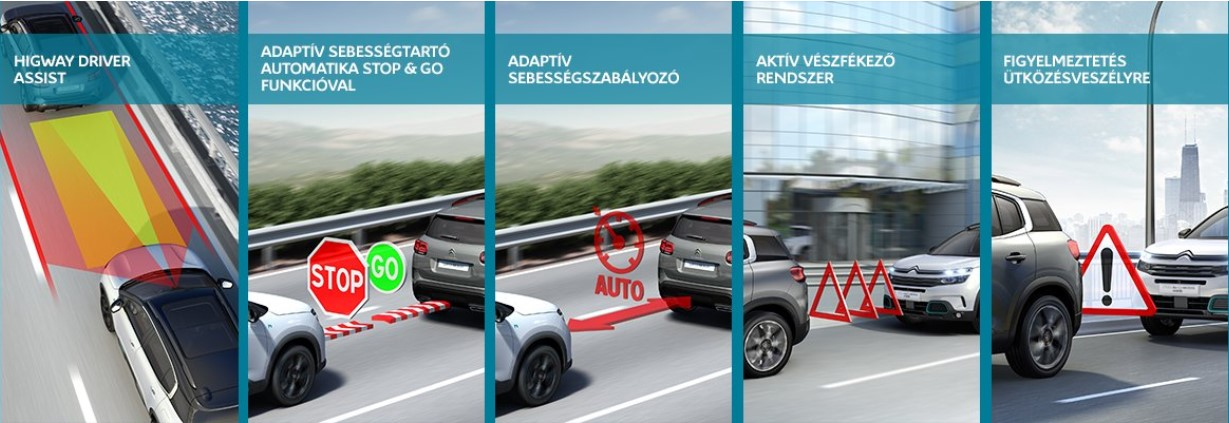 Citroen New C5 Aircross Hybrid Technology