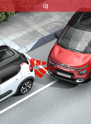 Citroen New C3 FL Vezetéstámogató